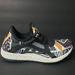 Adidas Pure Boost Animal Print Womens 6.5 Shoes